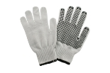 Polycotton Gloves / PVC Dots