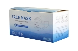 Disposable Face Mask 3 ply with Ear Loop - 50 Masks per Box